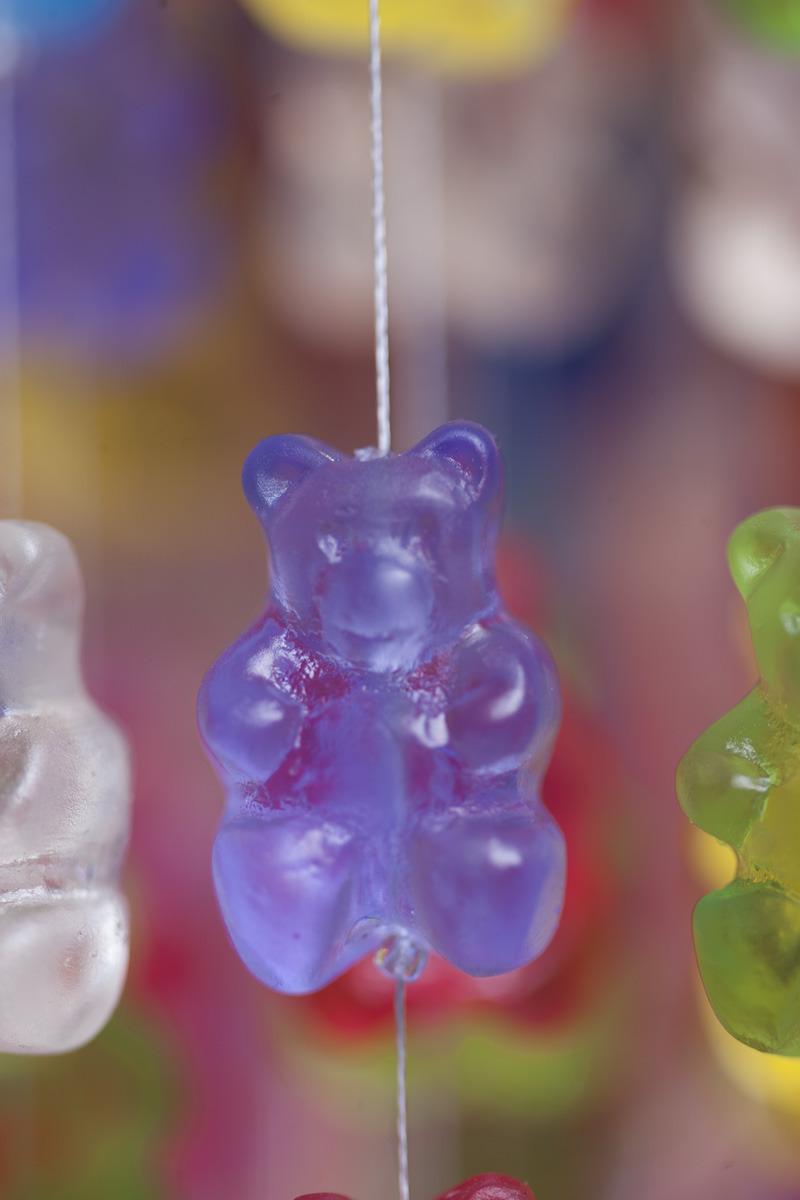 Art sculpture colorful interior design color gummy light fixture art sculpture colorful interior design color gummy light fixture chandelier gummies gummy bear kevin champeny making aloadofball Images