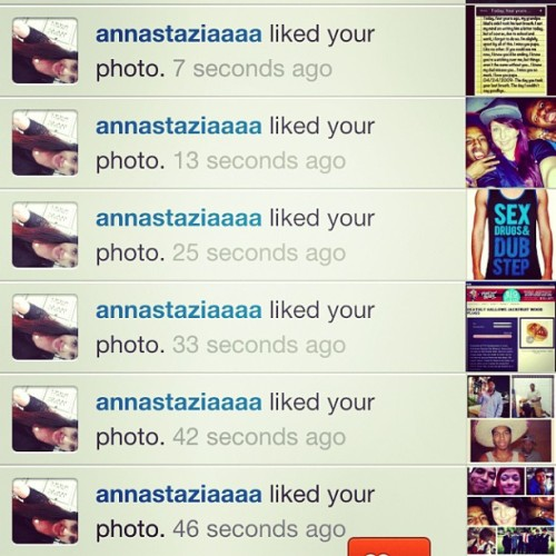 Thanks for all the love @annastaziaaaa