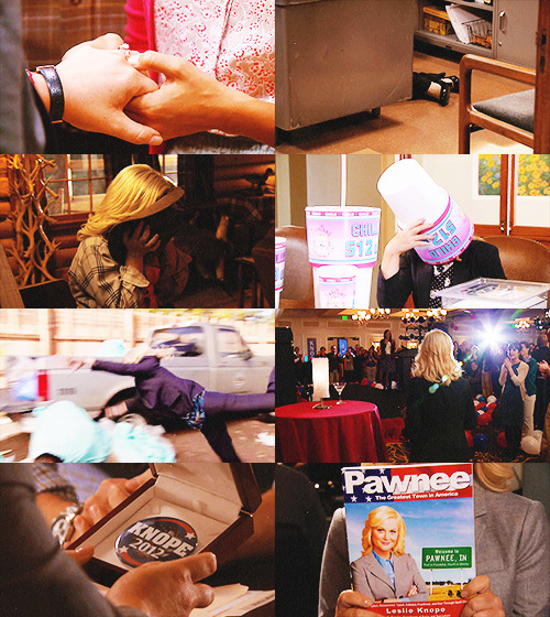 leslie knope // faceless