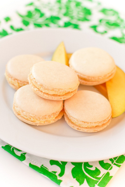 Mango Macarons by pozhidaeva on Flickr.