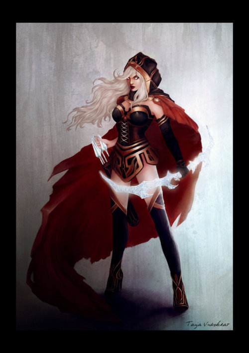 weagueofwegends:  [x] Crimson Ashe
