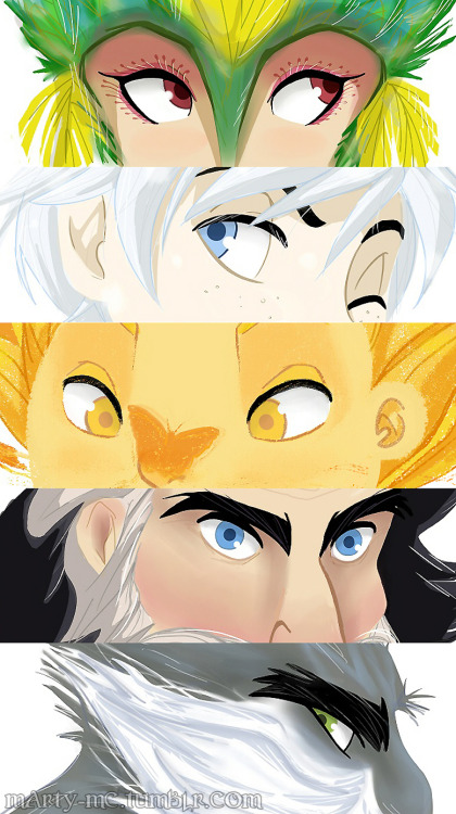 marty-mc:  I finally tried to draw some Rise of the Guardians fanart. I'm so obsessed with this movie, HELP!