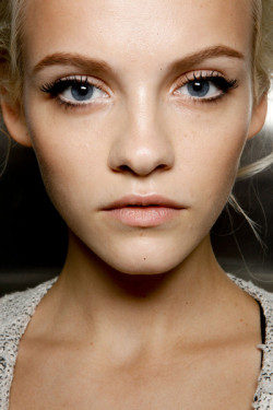club-fresh:  frunte:  Ginta Lapina  shes so pretty
