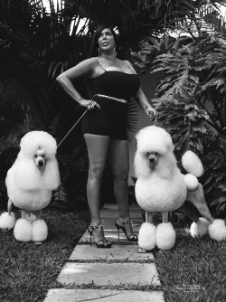 savethelinoleum:  Big Ang in Bruce Weber's Miami House Party Campaign | 2013