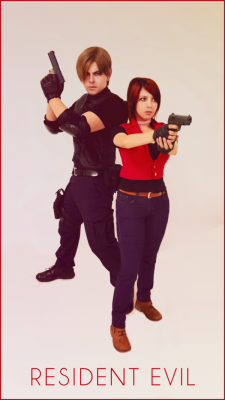 Claire Redfield n Leon S. Kennedy cosplay by *Vicky-Redfield