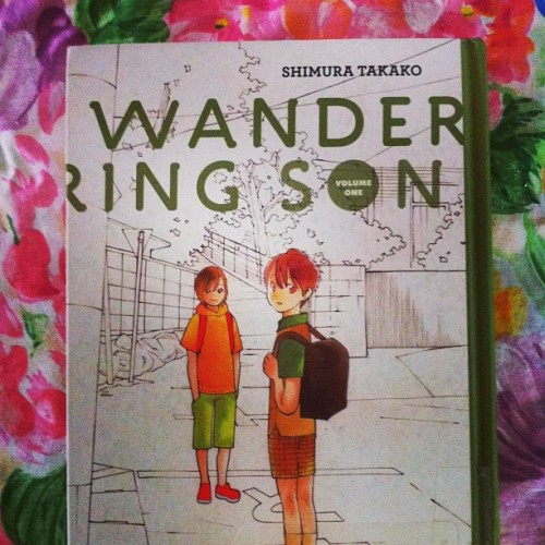 #justread Wandering Son Vol 1. Can't wait to read Vol 2! #comics