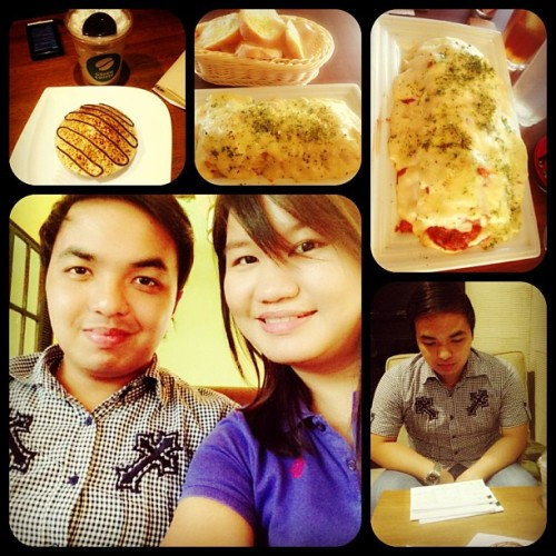 May 11, 2013 : House of Lasagna / Green Coffee. #review #foodtrip