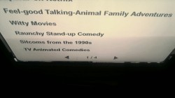 Was wonderin' what Feel-good Talking-Animal Family Adventures were on Netflix.
