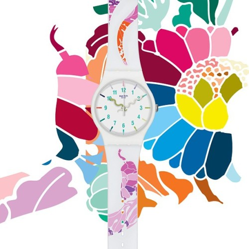 Presenting the #Swatch #ChineseNewYear Special for the year of the #YearOfTheSnake  (at Swatch HQ)