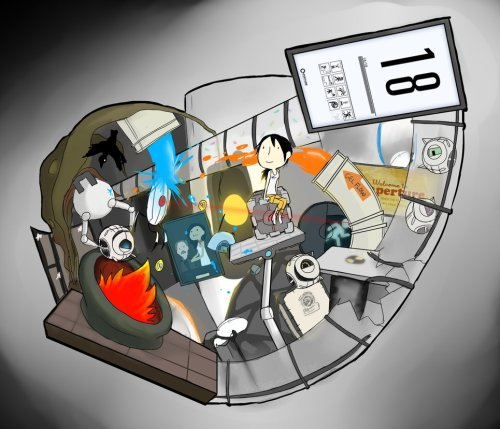 gameranx:  PORTAL by ~Super-Cute