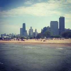 at North Avenue Beach
