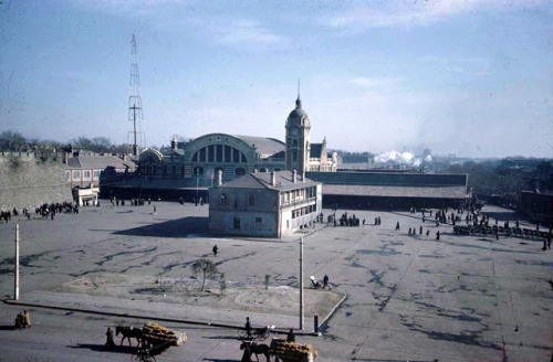 Beijing central railway station, 1947