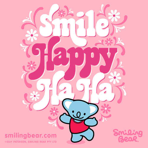 Smile Happy Ha Ha!http://bit.ly/SB_SHH
