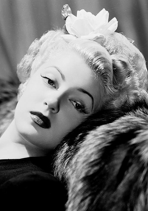 Lana Turner, 1940&#8217s.