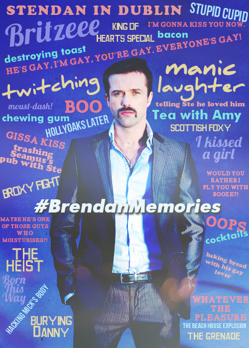 From well over 300 tweets of #BrendanMemories I made this to celebrate so many of Brendan's most memorable and favourite moments. And what great memories they are.