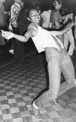 Diana Ross at Studio 54.