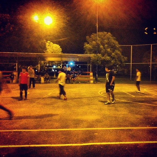 This is one thing I will miss. Sunday night futsala. #cochabamba