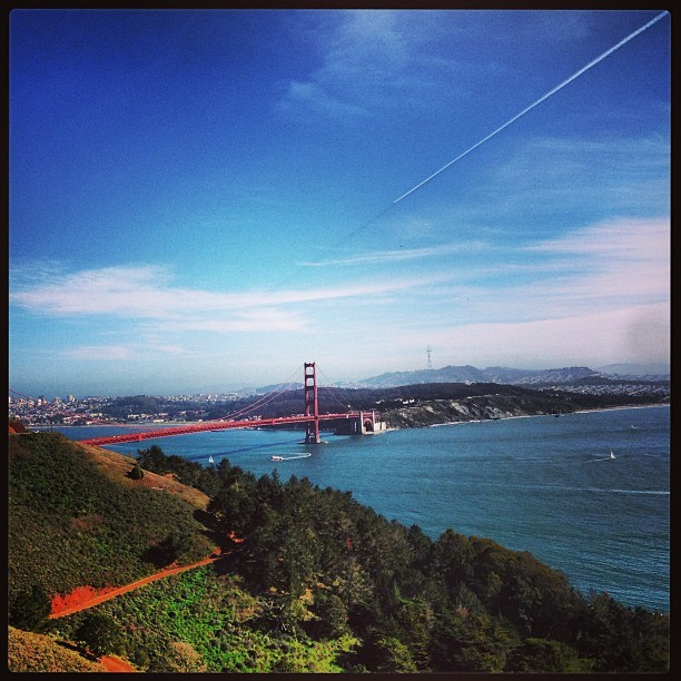 First time here. Long overdue.  (at Marin Headlands)