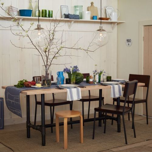 Design Workshop Wood Top Table | west elm