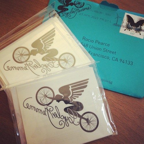 We have #cyclofemme temporary tattoos for those of you joining our ride on May 12th. #icyclofemme #weridetogether #cykelsf #cykel  (at Cykel)