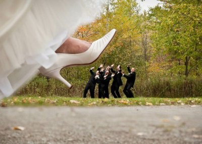 20somethingbride:  Love the fun angle of this!  Haha! Cool~ :P