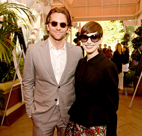 Anne with Bradley Cooper at the 13th Annual AFI Awards