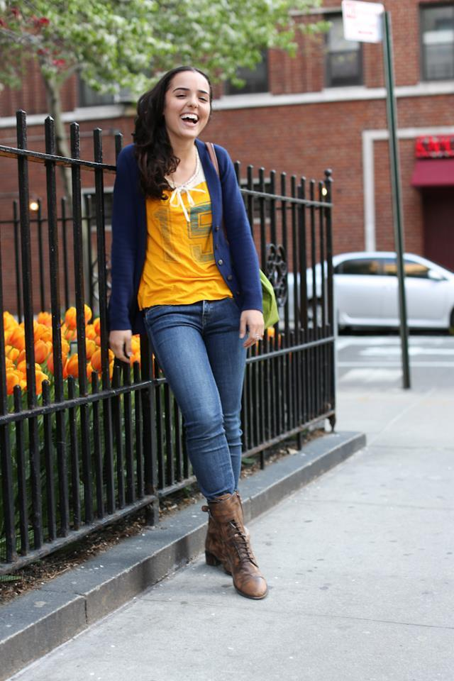 "humansofnewyork:  Her name was Roya.  ""It means Sweet Dreamer Fantasy,"" she said."