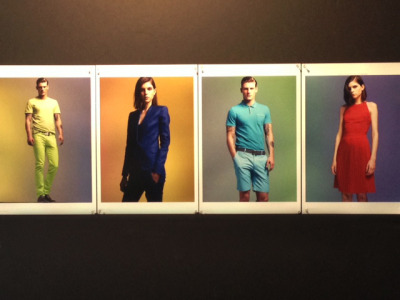 Shooting color, Calvin Klein Spring 2013.