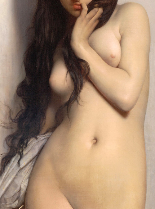 c0ssette:  (Detail) The Grasshopper,1872,Jules-Joseph Lefebvre.   Wow