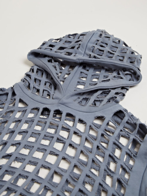 badp0p:  dejne: RAF SIMONS ARCHIVE SS06 PERFORATED HOODED JUMPER www.ln-cc.com
