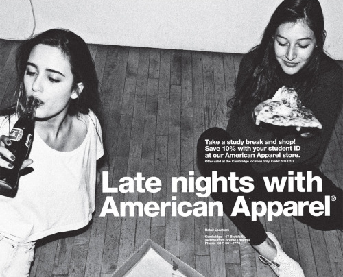 chanel-smokes:  american apparel