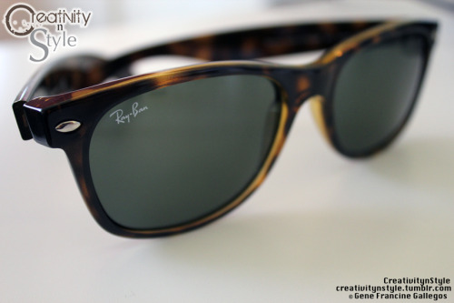 The Classic Rayban Wayfarer. A must for Spring/Summer. Photography by: Me, Gene Francine Gallegos