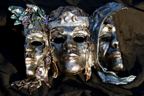 missionariaprotectivia:  Triple Goddess Mask 2 by ~El-Sharra