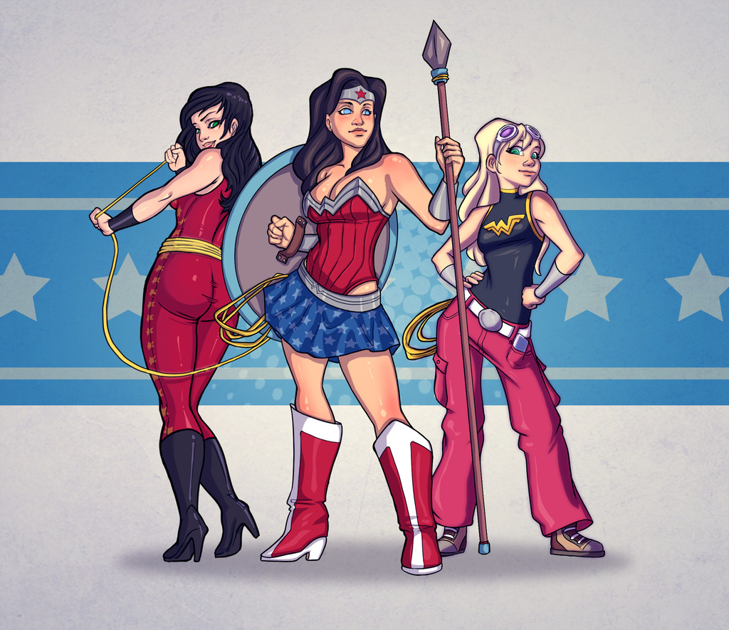 lulubonanza:  Wonder Trinity by ~Kanish
