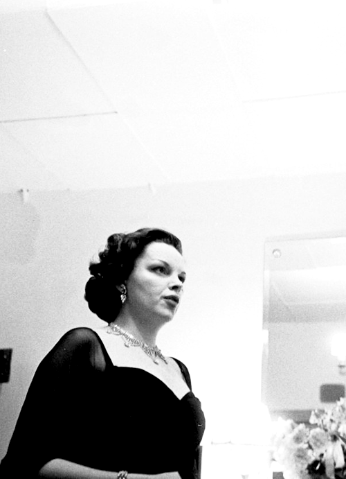 Judy Garland at the Palladium, April 1951.