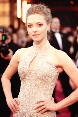 poisonparadise:   Amanda Seyfried | 85th Academy AwardsHollywood |  2.24.13