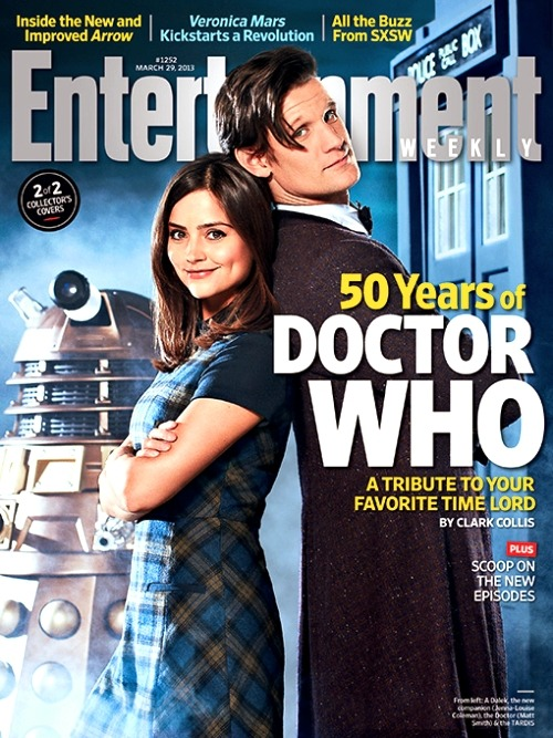 "The second of two ""Collector's Covers"" of Matt and Jenna on the cover of Entertainment Weekly The magazines hit U.S. stores tomorrow, March 22. The tablet version is available worldwide."