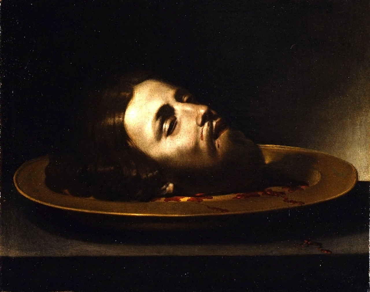 necspenecmetu:  Andrea Vaccaro, The Head of Saint John the Baptist, 17th century