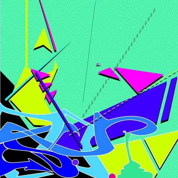 Just for fun. #graffiti #abstract #art