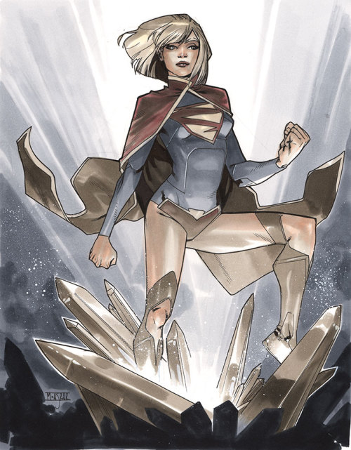 Supergirl II - London Super Comic Con 2013 Pre-Show Commission.
