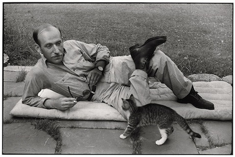 supersonicelectronic:  Artists & Their Cats. Famous artists and their cats.