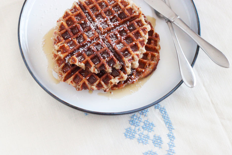 Gluten Free (via banana coconut waffles a one trick pony » The First Mess)