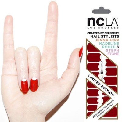 Be sure to get your limited edition #DitaDidIt #nailwraps  by @jennahipp x @shopncla $16 www.shopncla.com #DareToWear #NailingHollywood #nhxncla