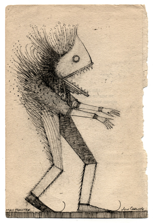joncarling:  may is full of monsters  oooh, me gusta.