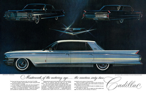 Cadillac advertisement. by totallymystified on Flickr.Cadillac advertisement.