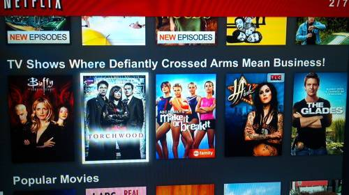 For April Fool's Day, Netflix now offers strangely specific viewing suggestions Crossed arms? I love shows that feature promo photos of people crossing their arms looking serious.