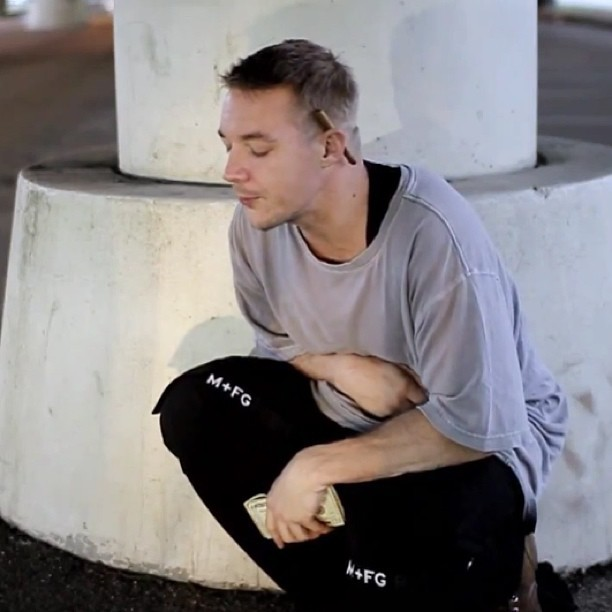 Peeped this guy @diplo is really rocking #Girbauds in the #ExpressYourself video… I used to love these pants til they just became too baggy for me to continue to wear… If only i could get them tapered 😍👌  These jeans were officially pronounced dead but everything comes back lol. I don't think he knows what he started! It's ON now! Haha  M + FG 🙌 🇫🇷  #MFG #MaritheFrancoisGirbaud #Shuttle #jeans #straps #French #style #fashion #inspiration #diplo #streetstyle #streetfashion #instastyle #instafashion #retro #instamood #instagood #instahub #ig #igers #igdaily #igfashioncommunity #whoisdavidbest  (at Express Yourself)