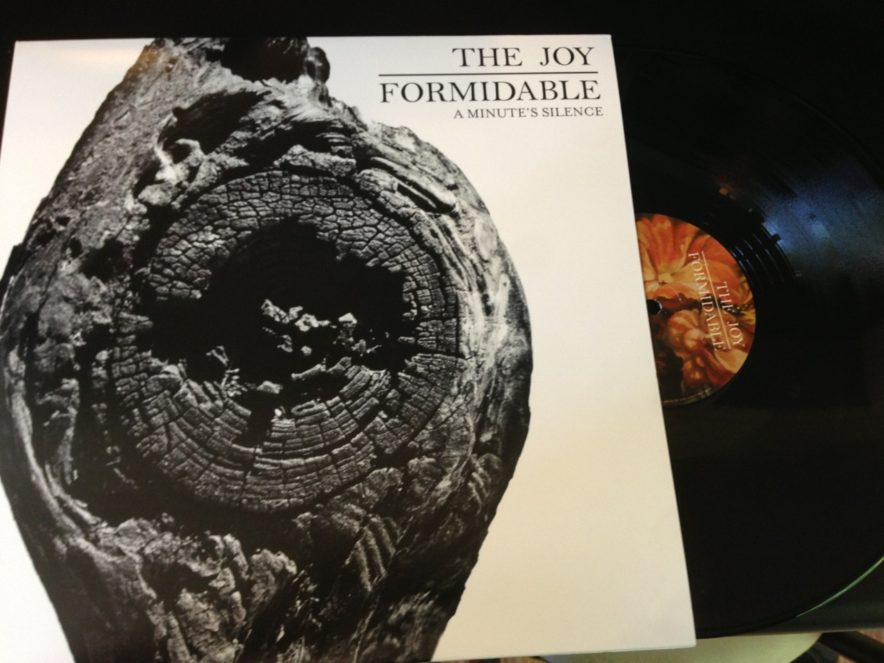 "The Joy Formidable limited (1850) vinyl release of new single ""A Minute's Silence"" with b-side cover of Bruce Springsteen's ""Badlands"" for Record Store Day 2013"