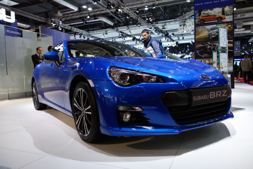 Smile and look pretty Starring: Subaru BRZ (by monsieur Burns)