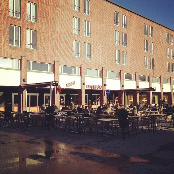 Terrace season starting at #barpassion #tampere